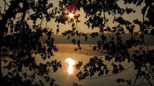 autumn ohio lake fall sunrise outdoors