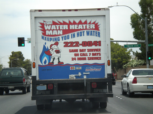 The Water Heater Man On The Drive Home Twain Ave And