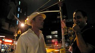 Eric and Enrique at Postopolis! closing party