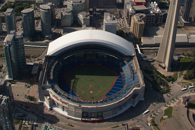 Rogers Centre Open Roof Flickr Photo Sharing