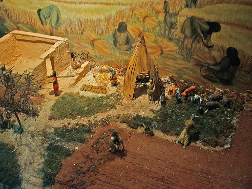 Régészeti Múzeum - korai anatóliai város maket