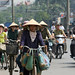 Bicycle and motorcycle traffic in Hanoi by World Bank Photo Collection