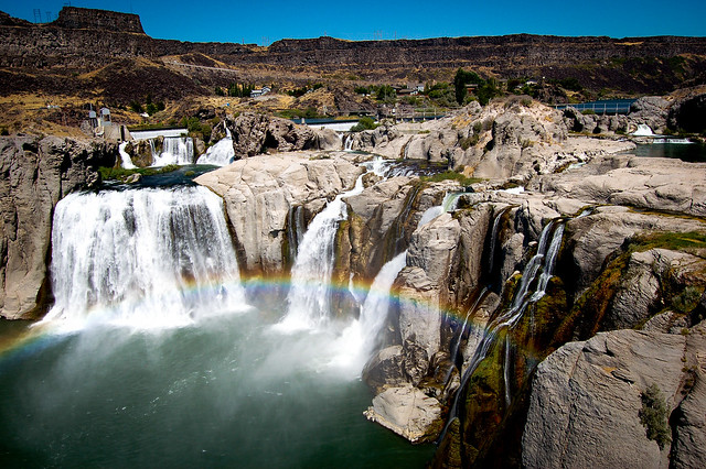 Shoshone Falls by CC user toddler on Flickr