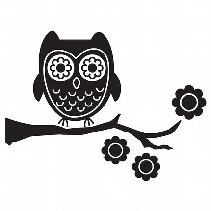 Owl Decal by Vinyl Wall Art | Owl decal by Vinyl Wall Art ...
