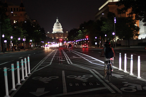 2010 06 23 - 1014 - Washington DC - Pennsylvania Ave Bike Lanes