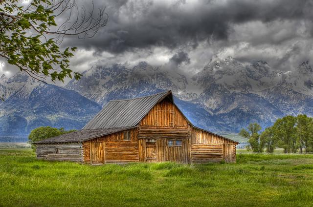 Grand Teton Barn Flickr Photo Sharing