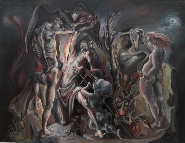 """The Temptation of St Anthony"" by Michael Ayrton, 1942-3"