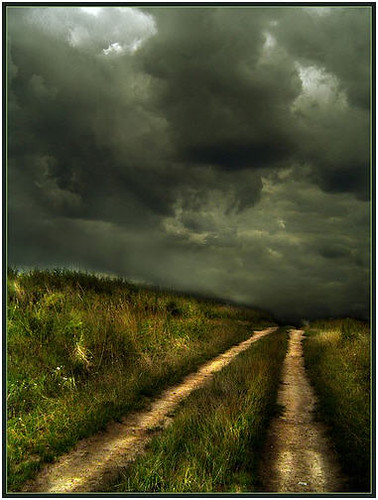 The clouds gathered fast and with violent intent. Lightening threatened. Betsy knew she had to get the children indoors.