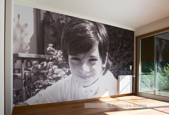 Quarto de criança decorado com fotografia de grandes dimensões  Flickr  Pho