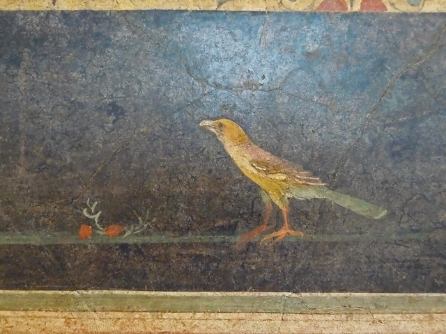 Wall painting from a cubiculum nocturnum Roman Augustan 1st century BCE from the villa of Agrippa Postumus at Boscotrecase (6)
