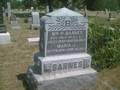 hobby civilwarveteran tombstonephoto williampbarnes coc91stillinfantry bornjuly11837