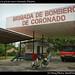Bomberos in private town Coronado, Panama