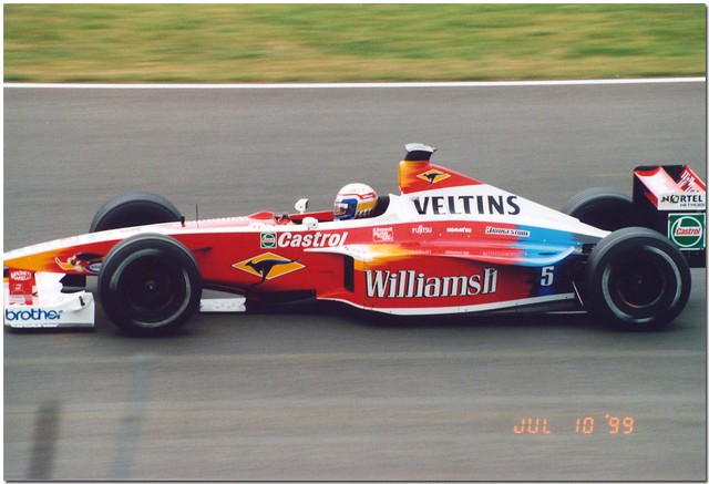 Alex Zanardi Williams Mecachrome FW21 F1. 1999 British GP Silverstone.