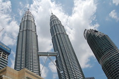 Twin Petronas Tower and Maxis Tower