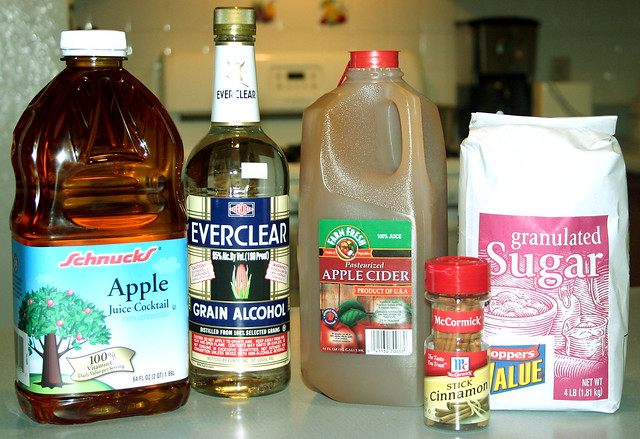how to make apple pie shots