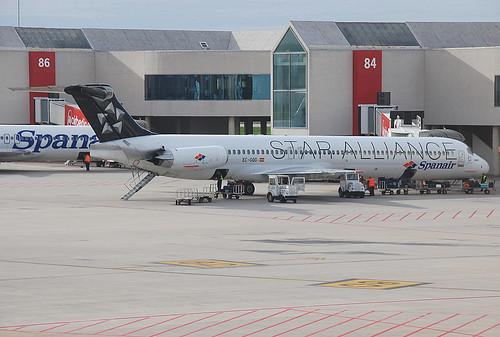EC-GQG / McD MD-83 / Star Alliance (Spanair).