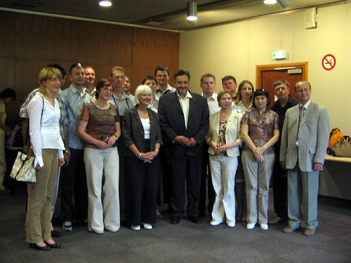 Russian Classmates and the assistance of Grenoble Mayor