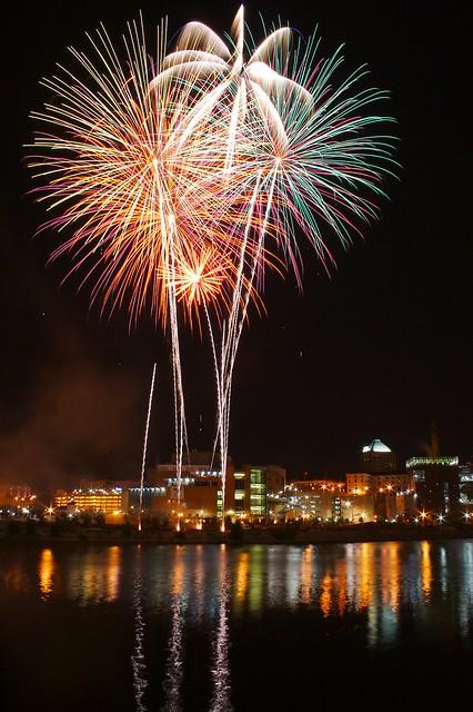 Fireworks @ Taste of Minnesota, Saint Paul