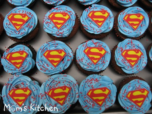 Cupcake Superman Ordered By Nuni For Fary S 4th Birthday