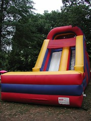 outdoor play equipment, play, games, playground slide, inflatable,