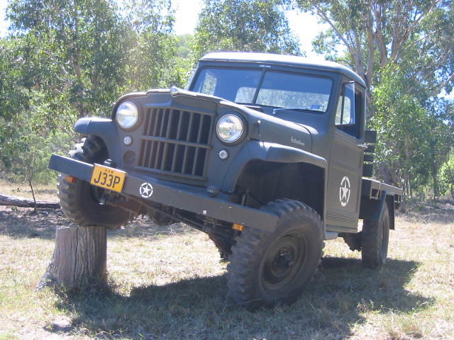 1958 Willys Jeep Wagon http://www.flickr.com/photos/12653915@N08/1310013244/