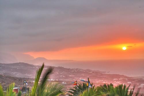 sunset sol photography spain nikon europe photos tenerife puesta hdr d80 nikond80 pasotraspaso jesussolana
