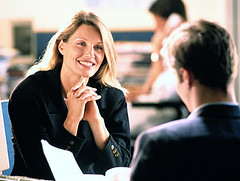 body language in job-interview