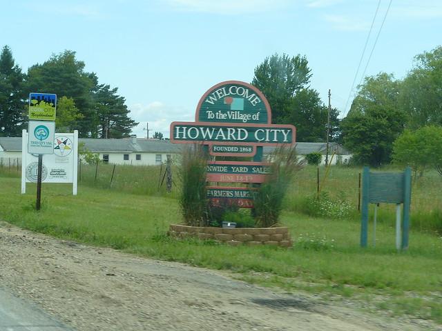 Howard City Mi Sign Flickr Photo Sharing