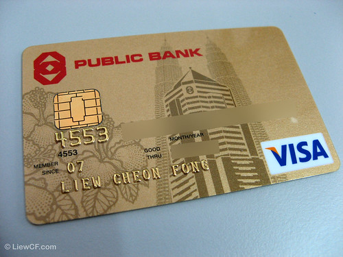PB Visa Gold Credit Card