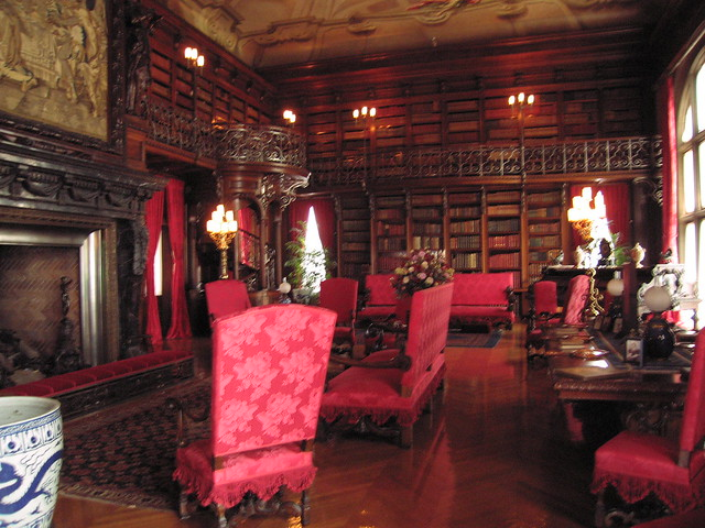 Library Inside Biltmore Flickr Photo Sharing