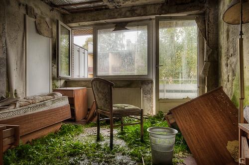 Sammelthema verlassene zerfallene vergessene geb ude for Designhotel dresden