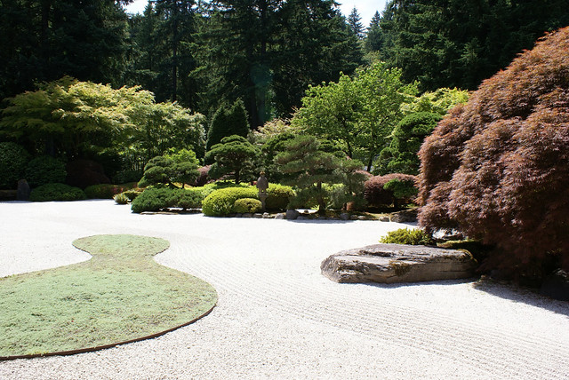 The Flat Garden at Portlands Japanese Garden Flickr