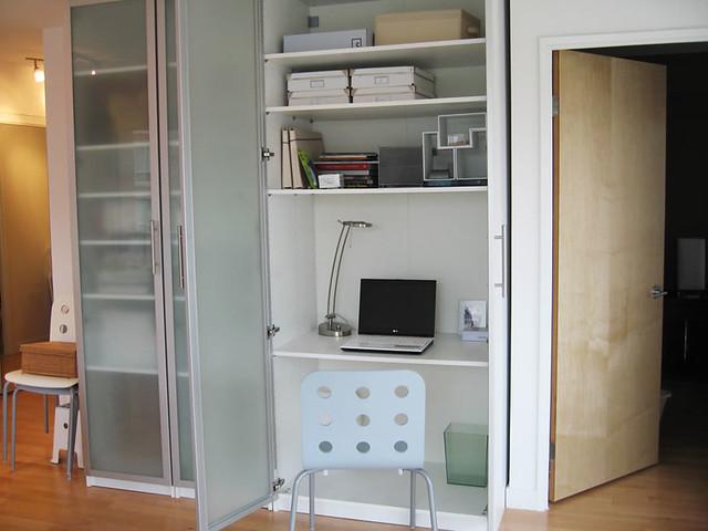 armoire de bureau chez ikea. Black Bedroom Furniture Sets. Home Design Ideas