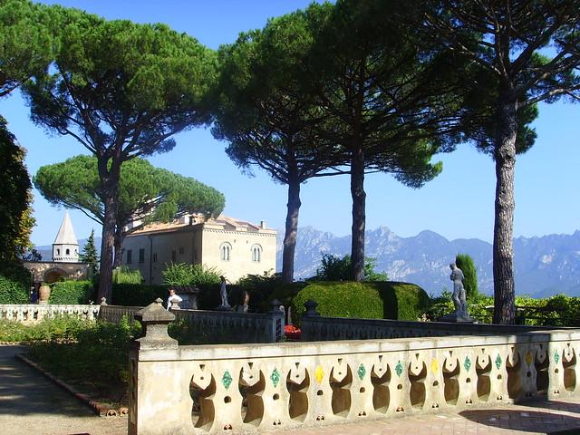 Villa Cimbrone Ravello Garden At Hilltop A Photo On