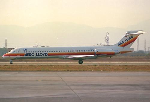 Aero Lloyd MD-87 D-ALLH PMI 24/07/1988
