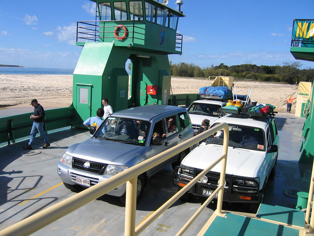 Car Ferry From Rainbow Beach