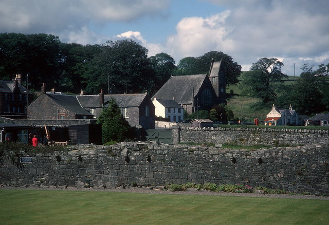 Dundrennan from abbey grounds (1972)