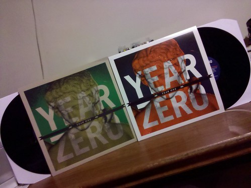 Year Zero - Year One LP - Ptrash Club Version & Regular Version