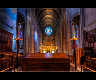 Grace Cathedral - San Francisco California (HDR)