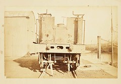 Part of the train salvaged from the Tay