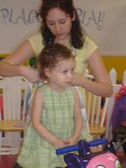 Meg's 1st Haircut