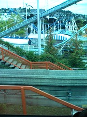 sport venue(0.0), transport(0.0), recreation(0.0), leisure(0.0), skyway(0.0), stadium(0.0), amusement ride(0.0), park(0.0), outdoor recreation(1.0), water park(1.0), roller coaster(1.0),