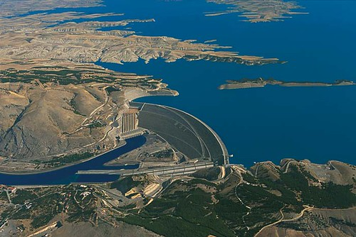 ATATURK DAM, TURKEY