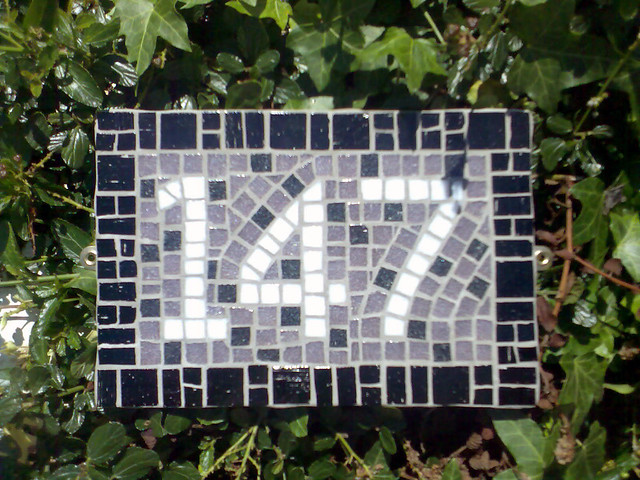 mosaic house number 147