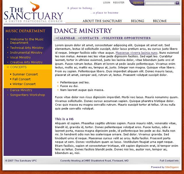 Sanctuary - Group C