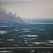 Smoke in the Southern Louisiana Marshlands