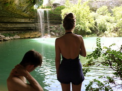 Henry and Jose at Hamilton Pool