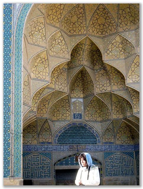 Iran_Esfahan Mosque, Panasonic DMC-FX1
