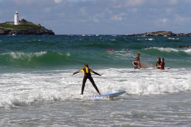 surf godrevy cornwall