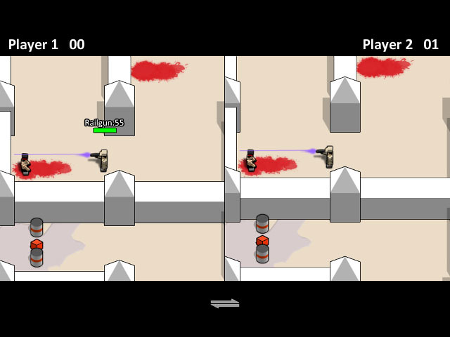 boxhead 2 player full screen